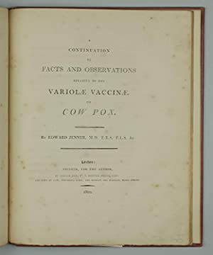 An inquiry into the causes and effects of the variolae vaccinae: a disease discovered in some of ...