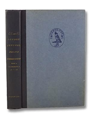 Boswell's London Journal 1762-1763 (The Yale Editions: Boswell, James; Pottle,