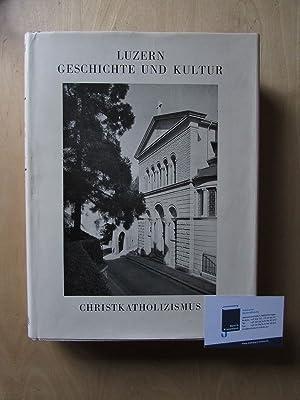 Luzern - Geschichte und Kultur, Teil II: Staats- und Kirchengeschichte (Band 3: Kirchengeschichte):...