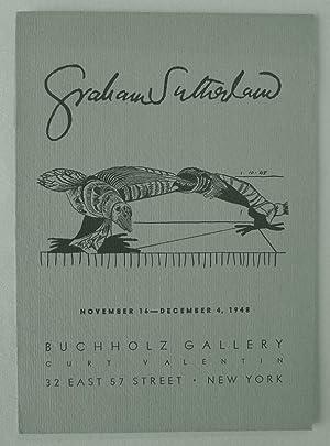 Graham Sutherland. Buchholz Gallery, Curt Valentin, New: SUTHERLAND, GRAHAM.