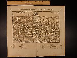 MAP City of Cheb CZECH Republic Sebastian: Sebastian Munster