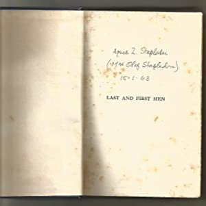 Last And First Men : A Story: Stapledon, Olaf W.