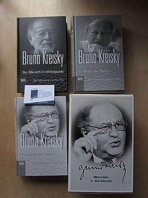 Zwischen den Zeiten / Im Strom der Politik / Der Mensch im Mittelpunkt (Memoaren in 3 Teilen, 3 ...