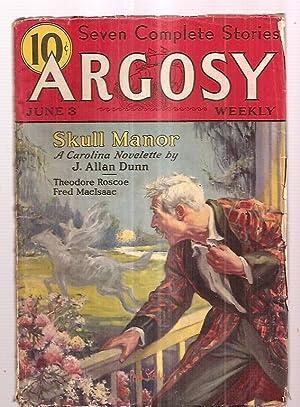 Argosy June 3, 1933 Volume 238 Number: J. Allan Dunn,
