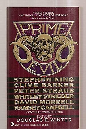 PRIME EVIL: NEW STORIES BY THE MASTERS: Winter, Douglas E.
