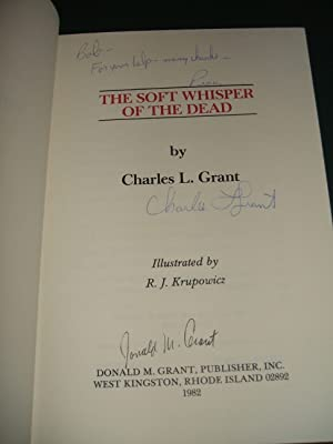 The Soft Whisper Of The Dead: Grant, Charles L.