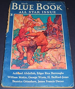 BLUE BOOK [BLUEBOOK] MAGAZINE MARCH 1935 VOL. 60, NO. 5 [ALL STAR ISSUE] [including part 5 of SWO...