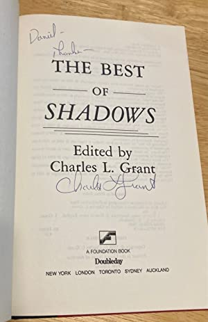 THE BEST OF SHADOWS: Grant, Charles L. (edited by) [Stephen King, David Morrell, Lisa Tuttle, ...