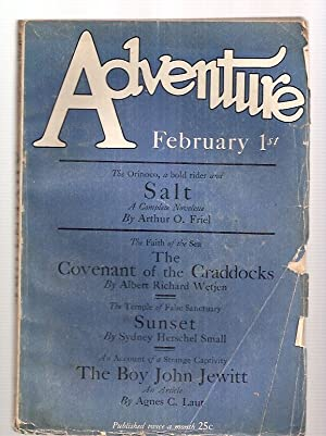 Adventure February 1st 1927 Vol. Lxi No.: Edited by Arthur