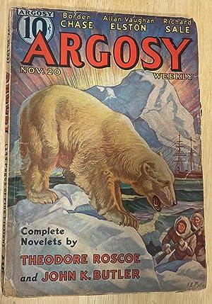 Argosy Weekly for November 20, 1937: Edited by Argosy