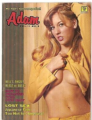ADAM VOLUME 11 NO. 8 AUGUST 1967: Adam) [Alan Stone,