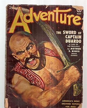 Adventure May 1949 Vol. 121 No. 1: Edited by Adventure