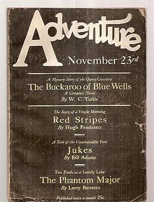 Adventure Magazine for November 23rd 1926: Edited by Arthur