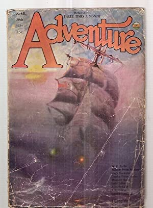 Adventure Magazine for April 30th 1924: Edited by Arthur