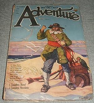 Adventure Magazine For December 10th 1924: Edited by Arthur