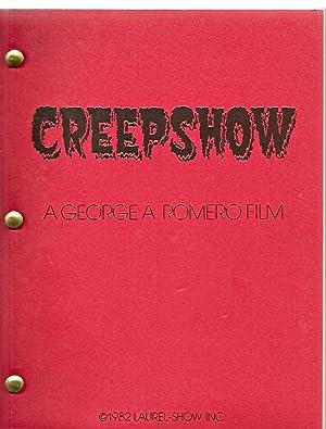 "CREEPSHOW: A SCREENPLAY ""1ST DRAFT"" [A GEORE: King, Stephen [George"