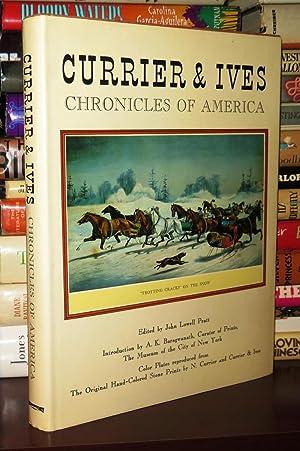 CURRIER AND IVES Chronicles of America: Pratt, John Lowell