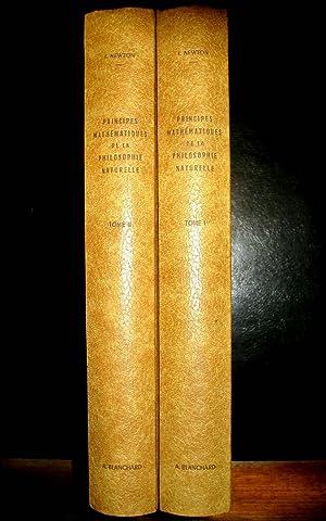 Principes mathématiques de la philosophie naturelle.: NEWTON, Isaac