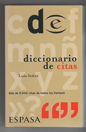 Diccionario de citas: SEÑOR, Luis