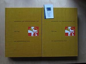 Geschichte der schweizerischen Post - 1849-1949 (Die Eidgenössische Post in 2 Bänden): Bonjour, ...