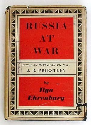 Russia at War: Ehrenburg, Ilya