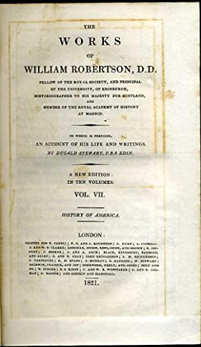 The Works of William Robertson, D. D.: Robertson, William