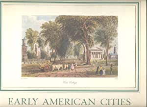 Early American Cities 18 Prints of 19th Century views: Lancaster, David (text)