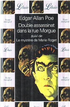 Double assassinat dans la rue morgue: Allan Poe Edgar