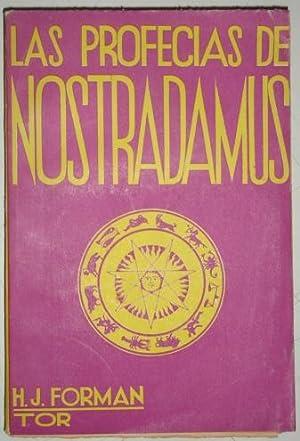 Las profecias de Nostradamus: Forman, H. J.