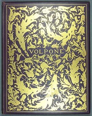 Volpone. Mit Initialen, einem Titelblatt und Deckel: Jonson, Ben.