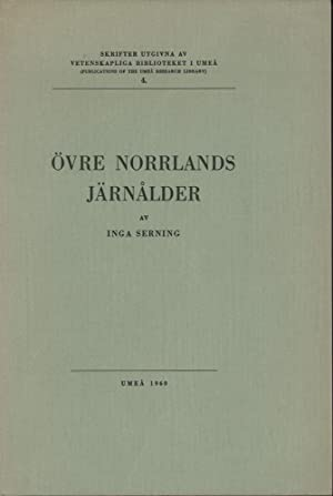 Övre Norrlands järnalder. With an English Summary.