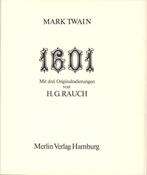 1601, or Conversation at the social fireside: RAUCH, H.G. -