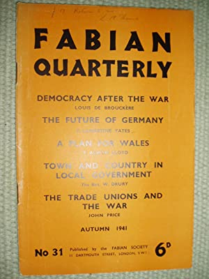 Fabian Quarterly [a collection of 4 issues, ca.1940-1947]: Fabian Society