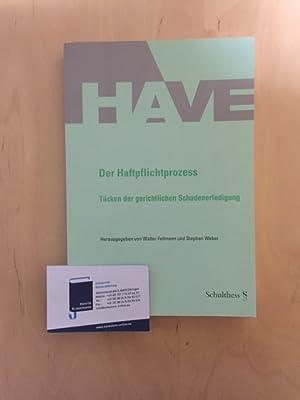 Der Haftpflichtprozess - Tücken der gerichtlichen Schadenerledigung: Fellmann, Walter und Stephan ...