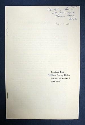 Bild des Verkäufers für LEAVISES, LEVI'S And SOME DICKENSIAN PRIORITIES zum Verkauf von Tavistock Books, ABAA