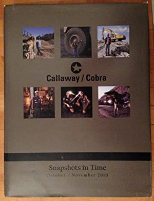 Callaway/Cobra Snapshots in Time October - November 2010