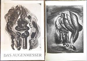 Das Augenmesser. Original-Flachdruck-Lithographien von Jörg Reme. Mit: Reme, Jörg :