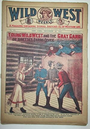 Wild West Weekly. No. 897. December 26,: An Old Scout