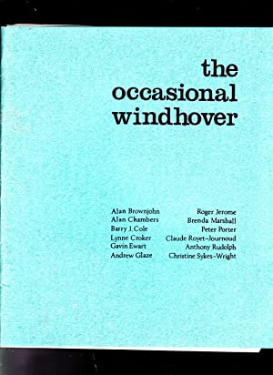 The Occasional Windhover: Editors: John Lewis and Richard Wootten