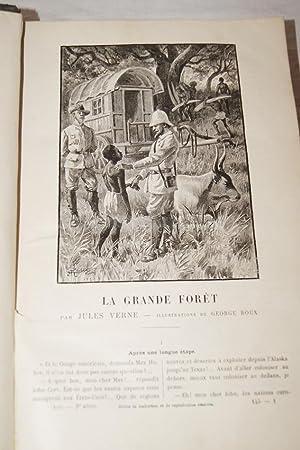 MAGASIN D'EDUCATION ET DE RECREATION-LA GRANDE FORET: Jules VERNE-Jules HETZEL