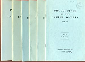 Proceedings of the Ussher Society [ Geology & Geomorphology of Devon & Cornwall ] Volume 1 comple...
