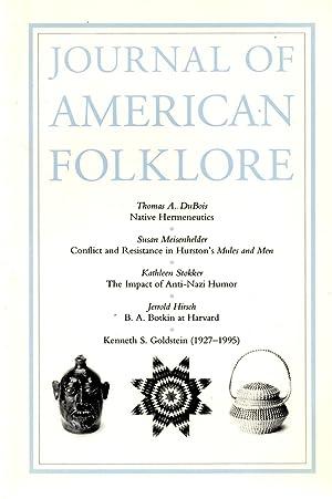 Journal Of American Folklore Volume 109 No.: Santino, Jack (editor)