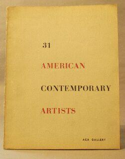 31 American Contemporary Artists: Baron, Herman (editor)