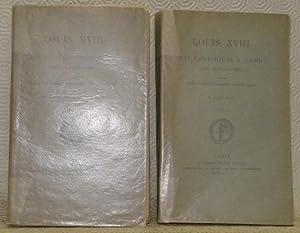 Louis XVIII et les cent-jours a Gand. Receuil de documents inédits publiés pour la société d'...