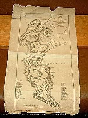 Charte von der Halbinsel des Vorgebirgs der guten Hoffnung ; nach den Zeichnungen der Holländ. und ...