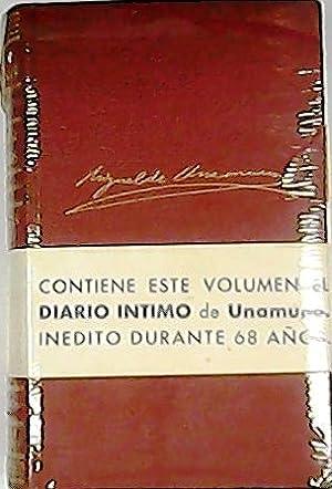 Obras completas, tomo VIII: Autobiografía y recuerdos: UNAMUNO, Miguel de.-