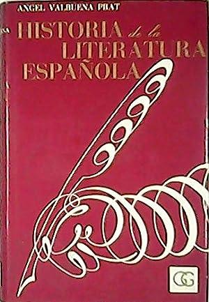 Historia de la literatura española. 4 tomos.: VALBUENA PRAT, Angel.-