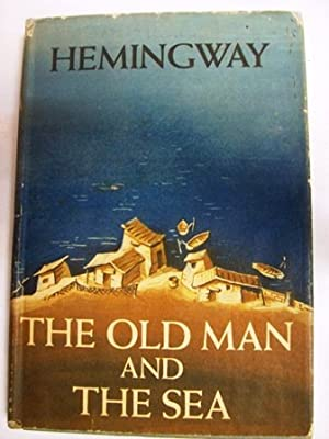 The old man and the sea. Novel. Jacket design by A.: HEMINGWAY, Ernest.-