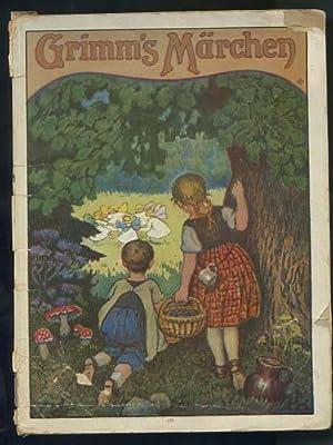 Grimms Märchen. [Schneewittchen; Hänsel und Gretel, Rumpelstilzchen,: Brüder Grimm und