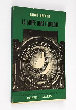 La Lampe dans l'horloge. Frontispice de Toyen.: Breton, André